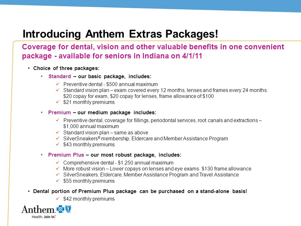 Introducing Anthem Extras Packages!