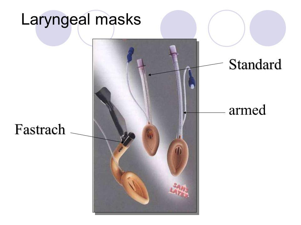 Laryngeal masks Standard armed Fastrach