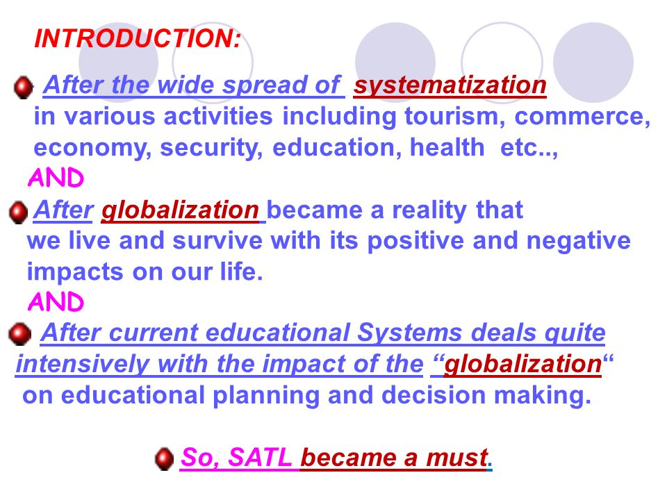 INTRODUCTION: After the wide spread of systematization. in various activities including tourism, commerce,