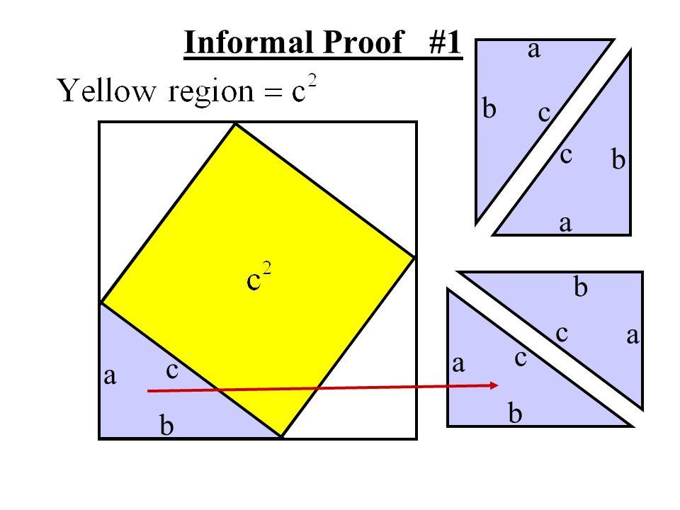 Informal Proof #1 a b c c b a b c a c a c a b b
