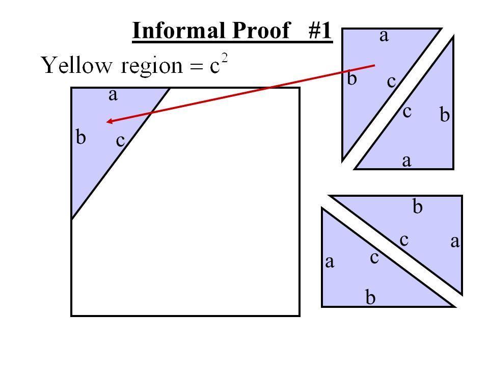 Informal Proof #1 a b c a c b b c a b c a c a b
