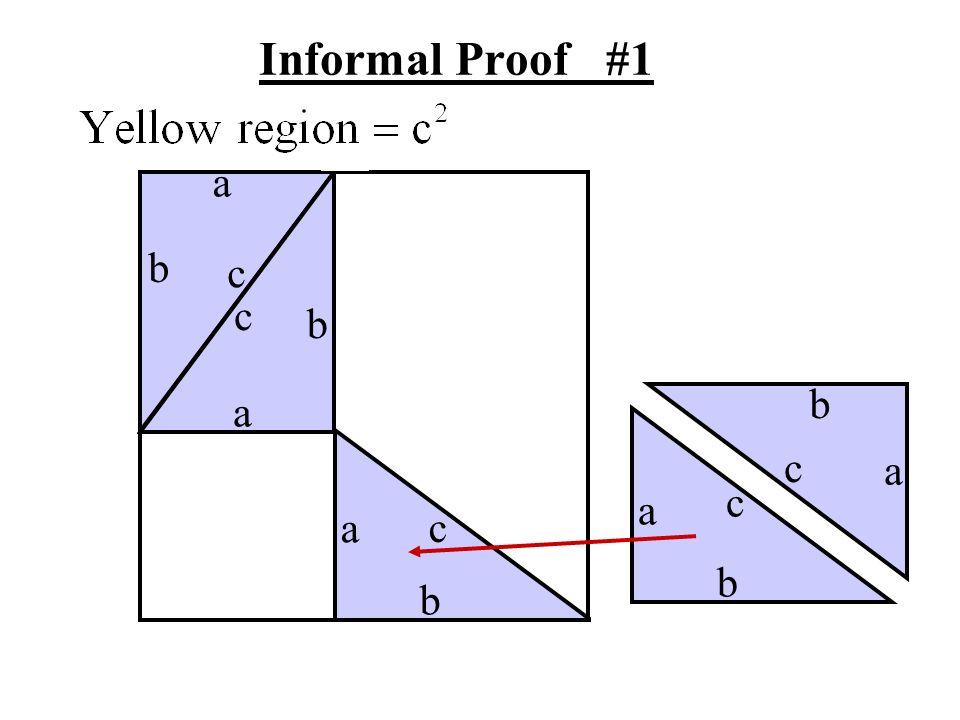 Informal Proof #1 a b c c b b a c a c a a c b b
