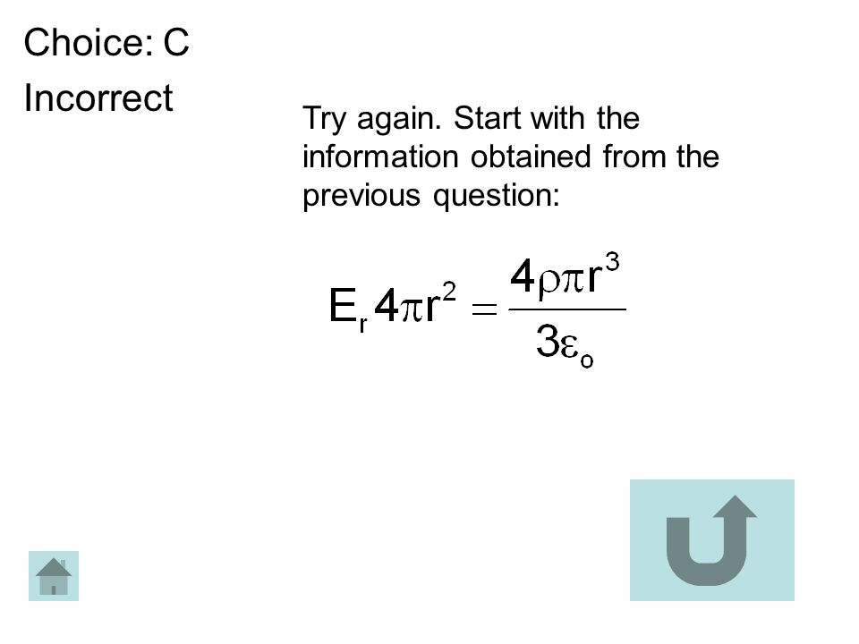 Choice: C Incorrect Try again. Start with the information obtained from the previous question: