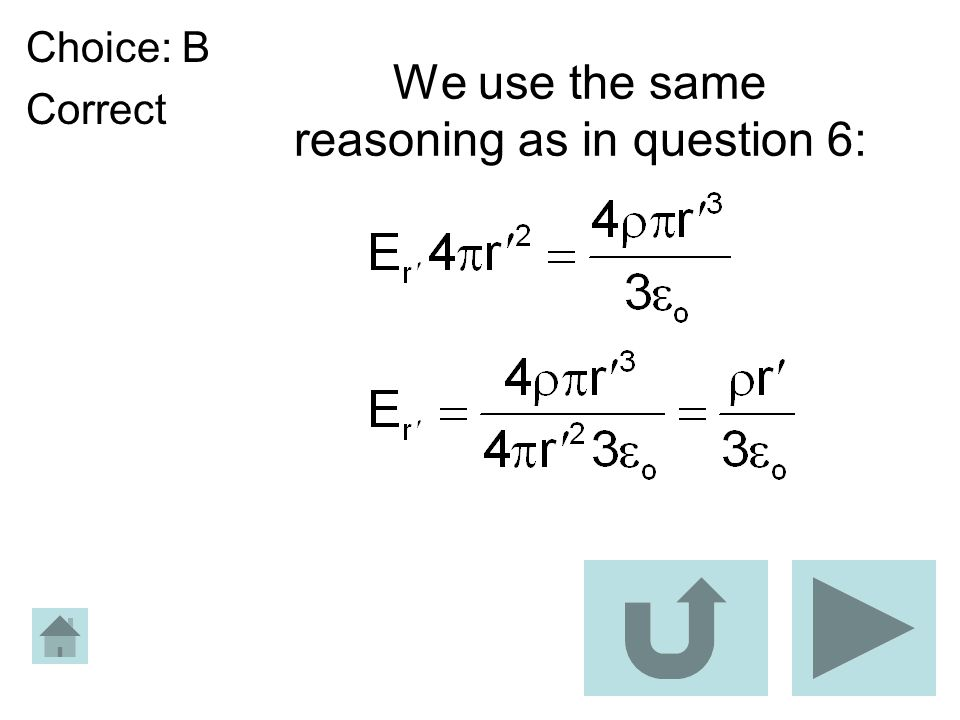 We use the same reasoning as in question 6: