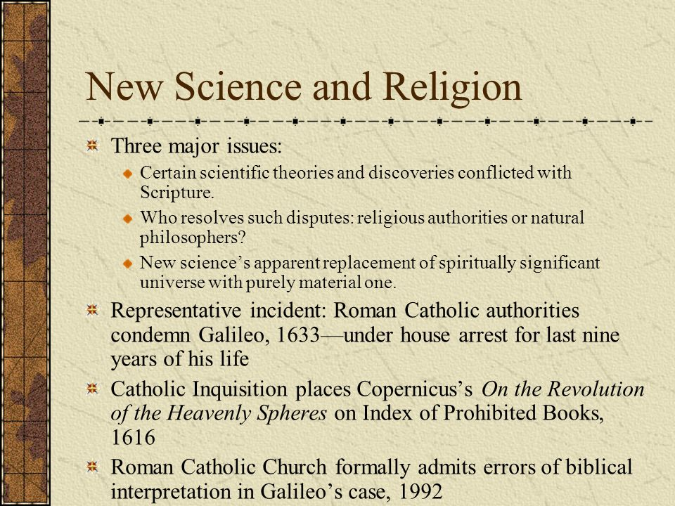 Catholic Church and science