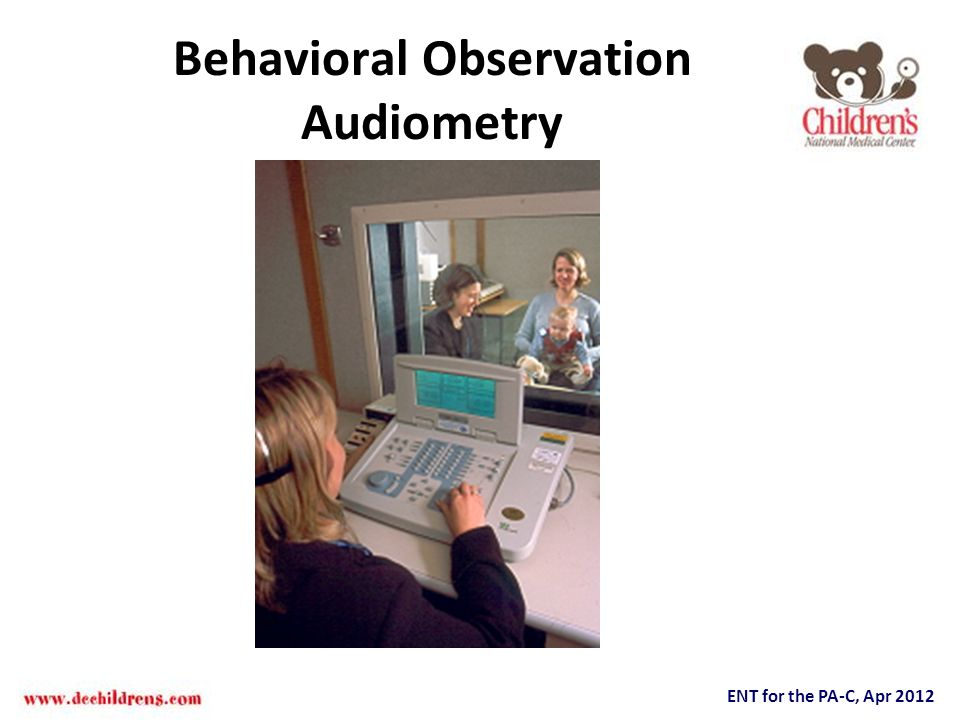 Behavioral Observation Audiometry