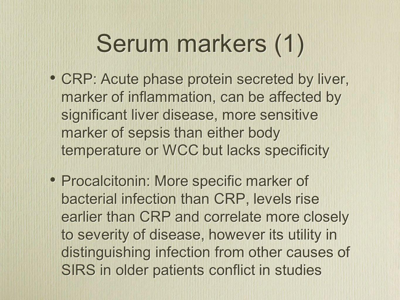 Serum markers (1)