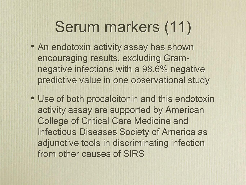 Serum markers (11)
