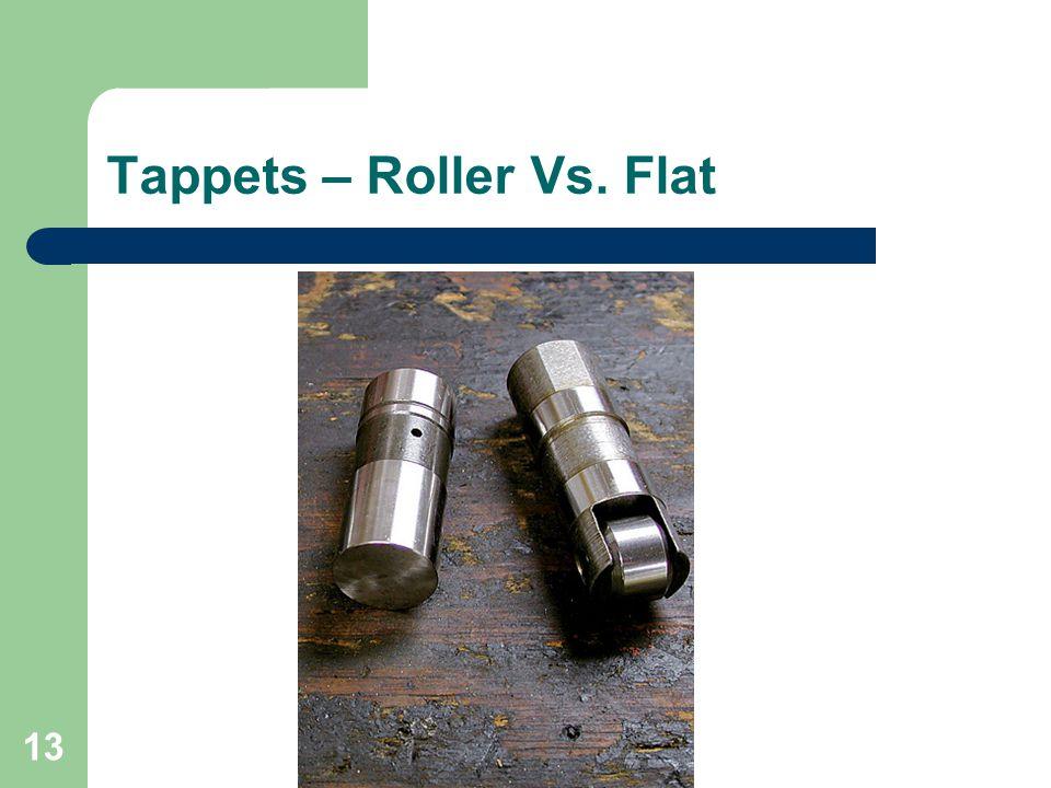 Tappets – Roller Vs. Flat
