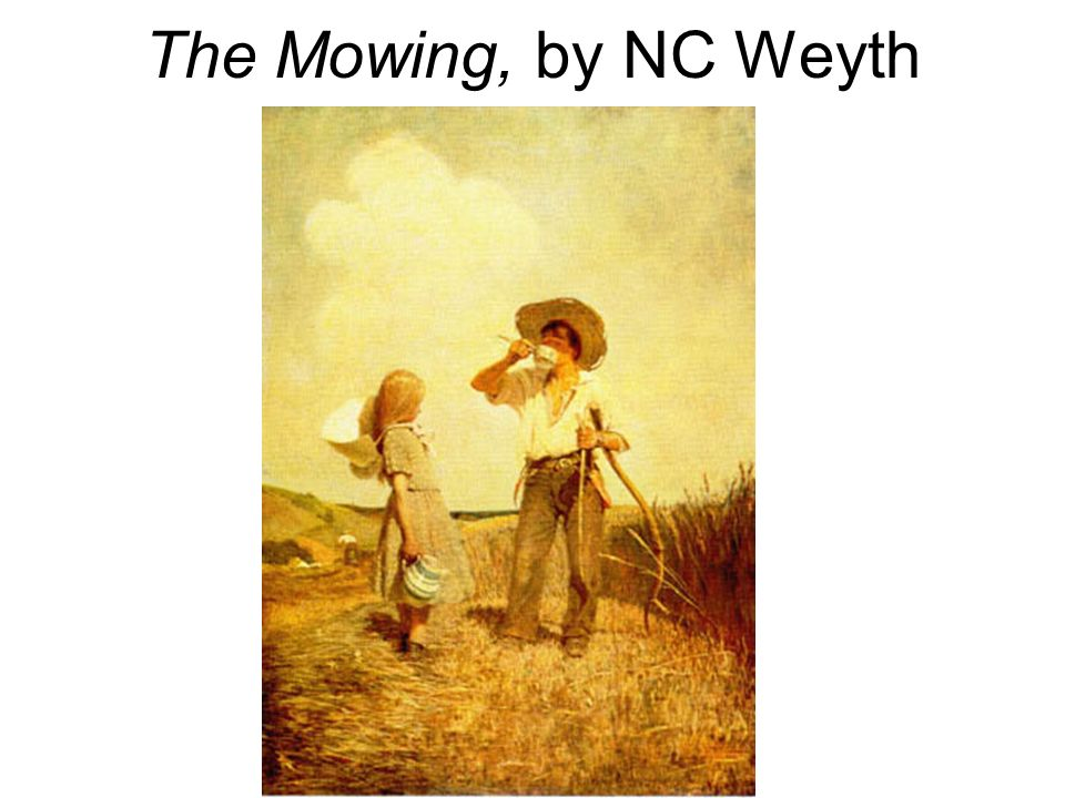 The Mowing, by NC Weyth