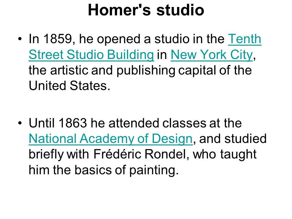 Homer s studio