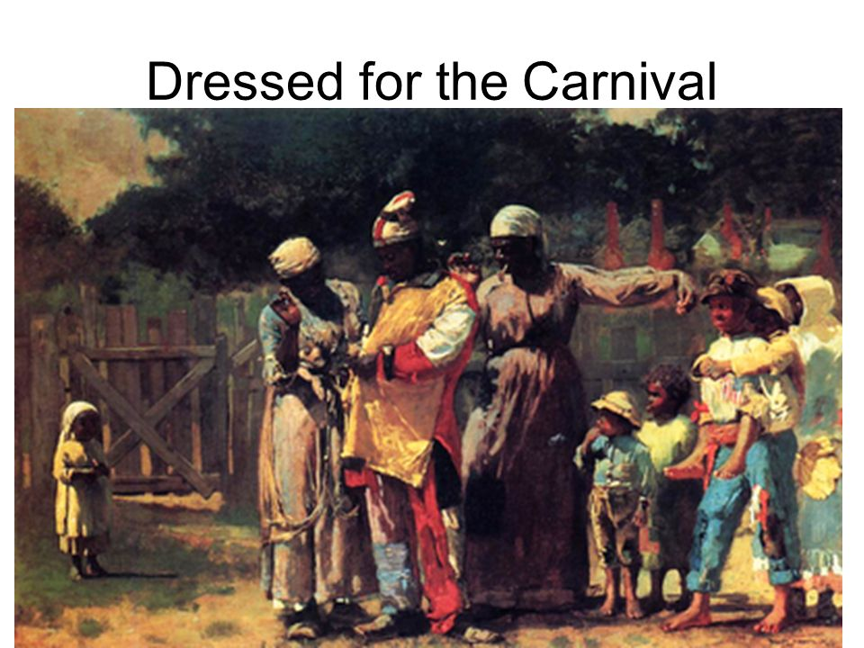 Dressed for the Carnival