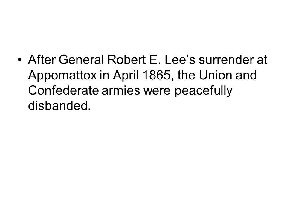 After General Robert E.