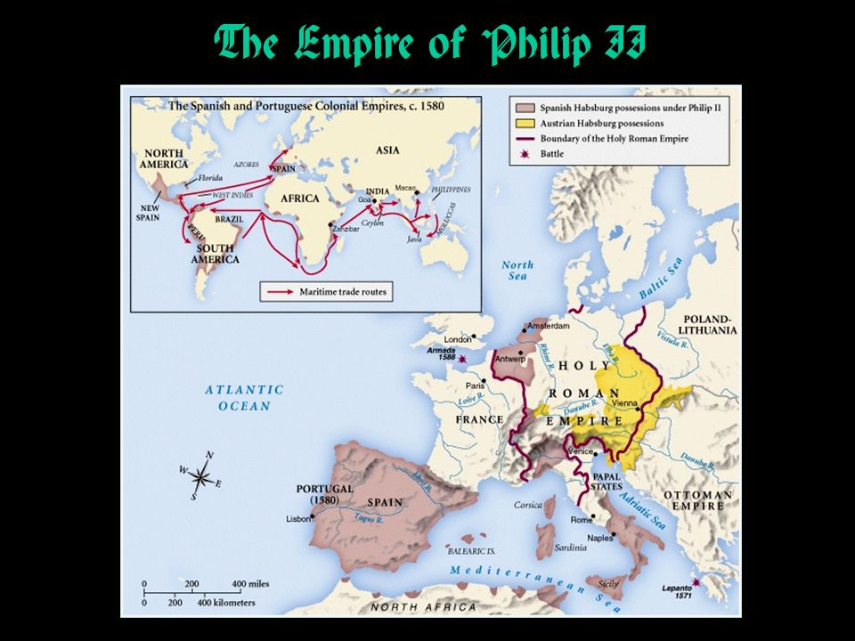 The Empire of Philip II