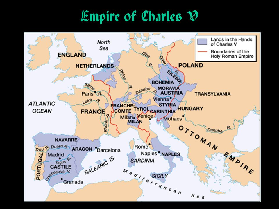 Empire of Charles V