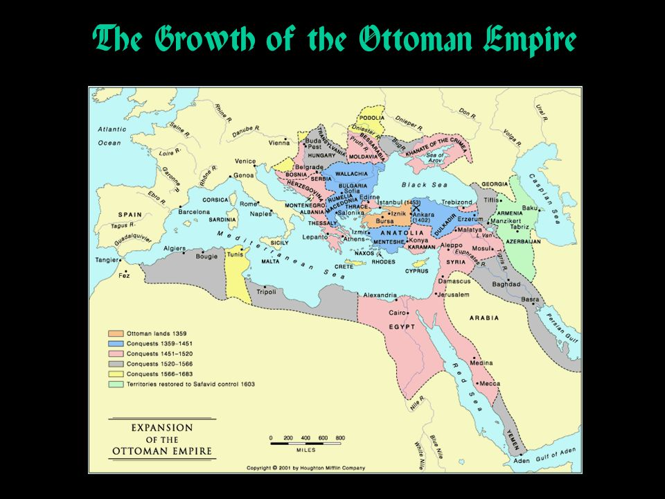 The Growth of the Ottoman Empire