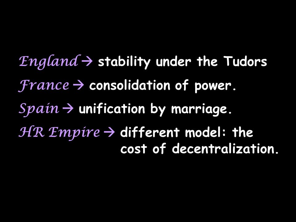 England  stability under the Tudors
