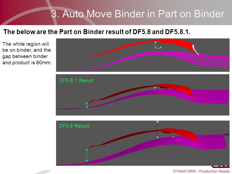 3. Auto Move Binder in Part on Binder