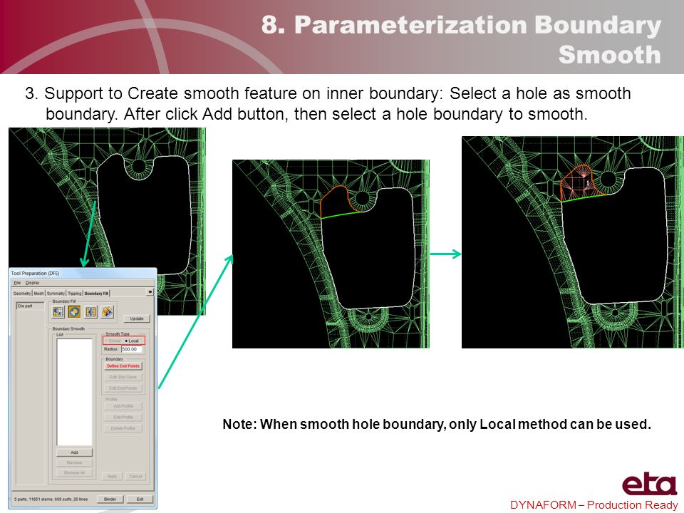 8. Parameterization Boundary Smooth