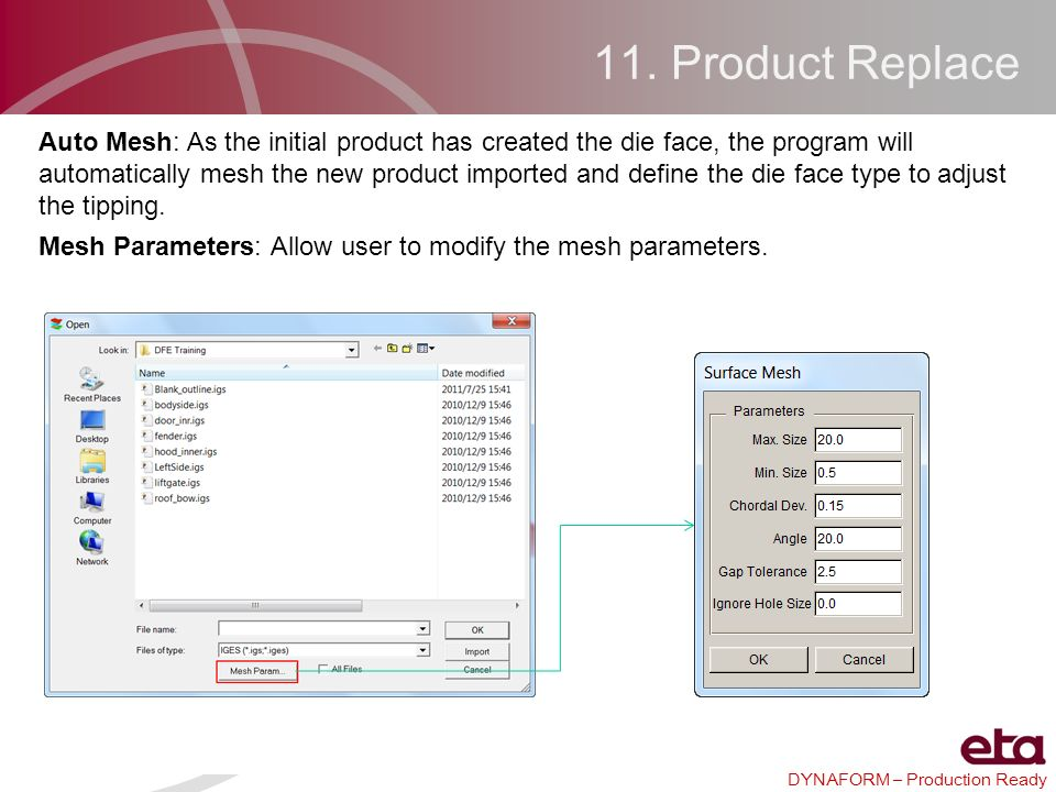 11. Product Replace