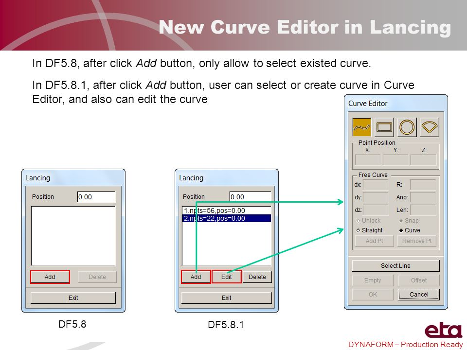 New Curve Editor in Lancing