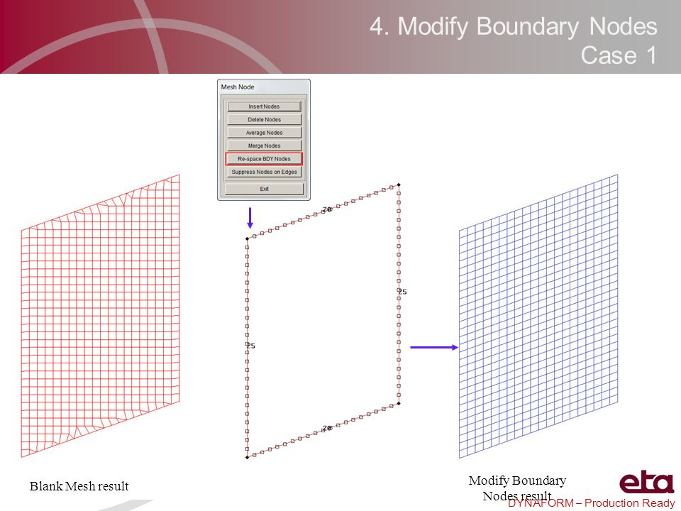 4. Modify Boundary Nodes Case 1