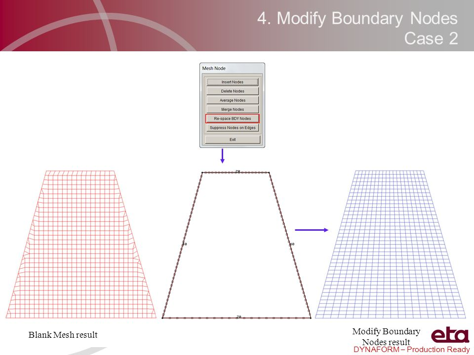 4. Modify Boundary Nodes Case 2
