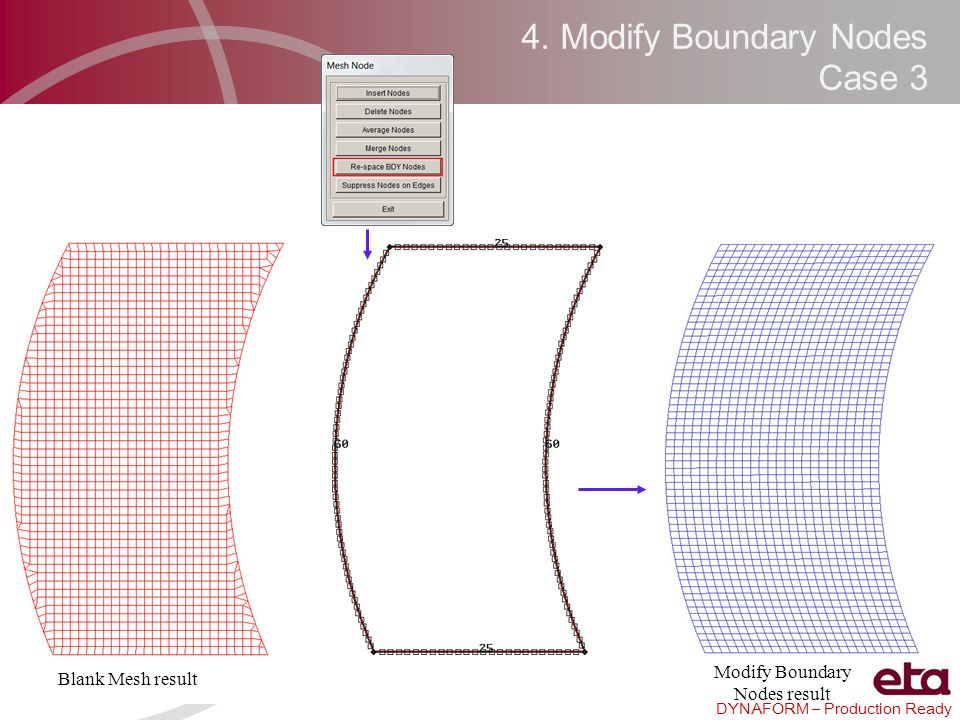 4. Modify Boundary Nodes Case 3