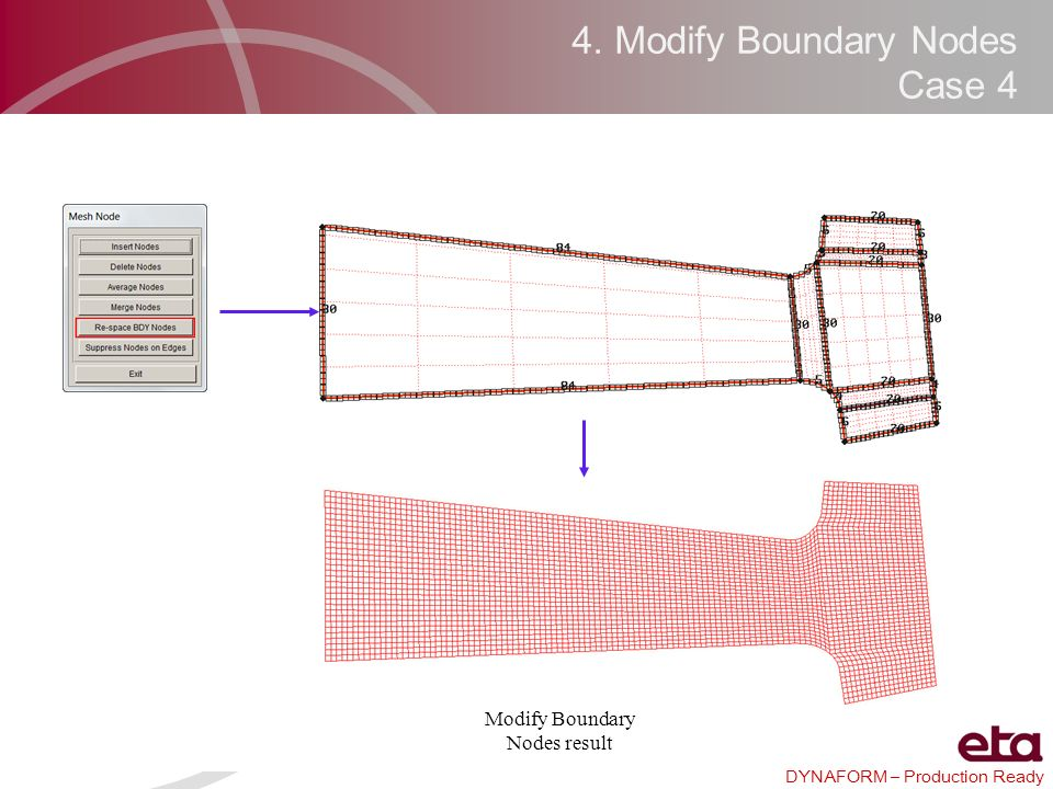 4. Modify Boundary Nodes Case 4