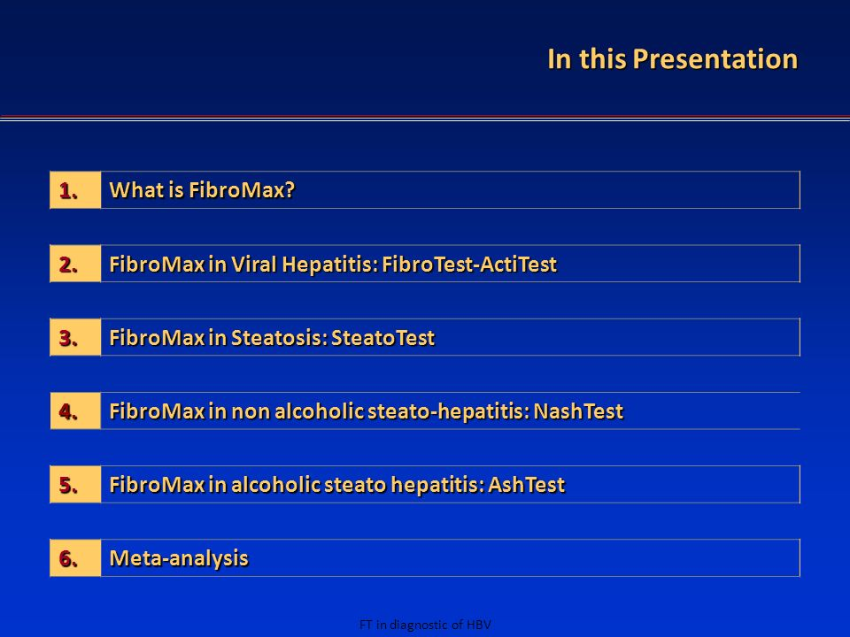 In this Presentation 1. What is FibroMax 2.