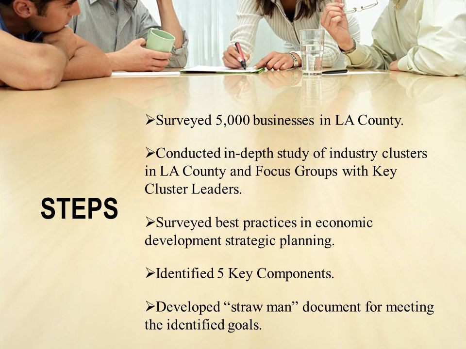 STEPS Surveyed 5,000 businesses in LA County.