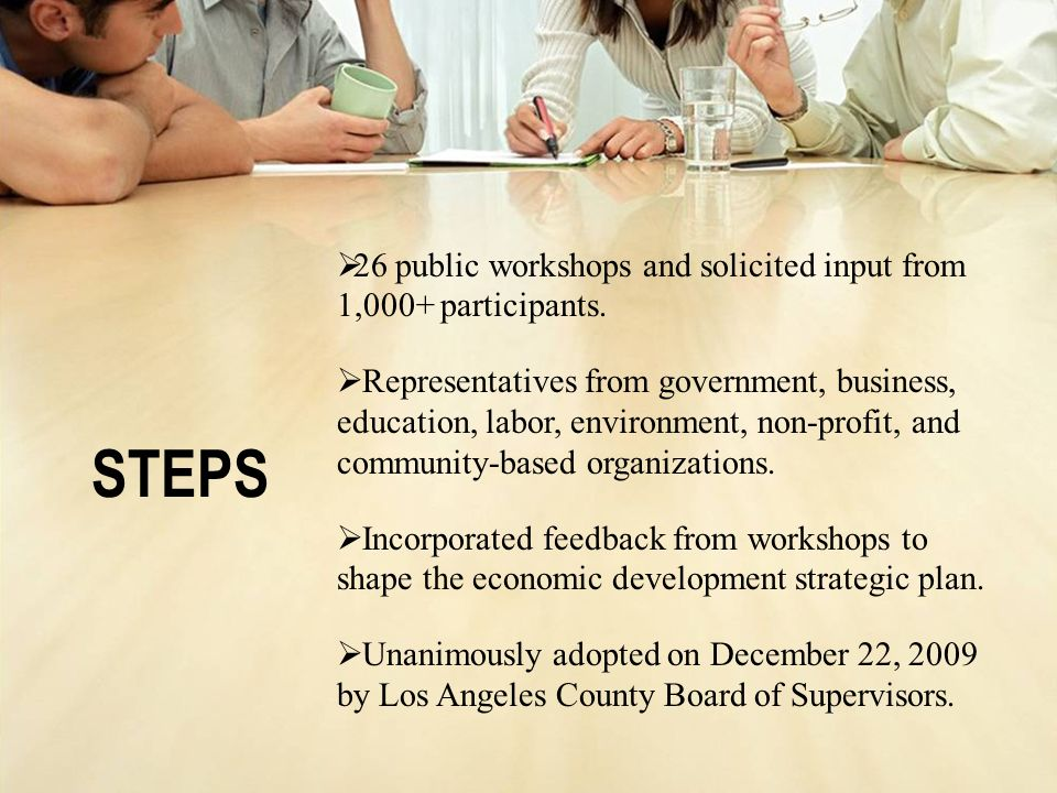 26 public workshops and solicited input from 1,000+ participants.