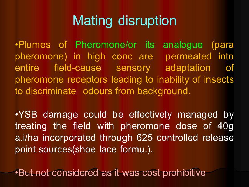 Mating disruption