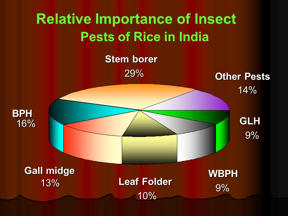 Relative Importance of Insect
