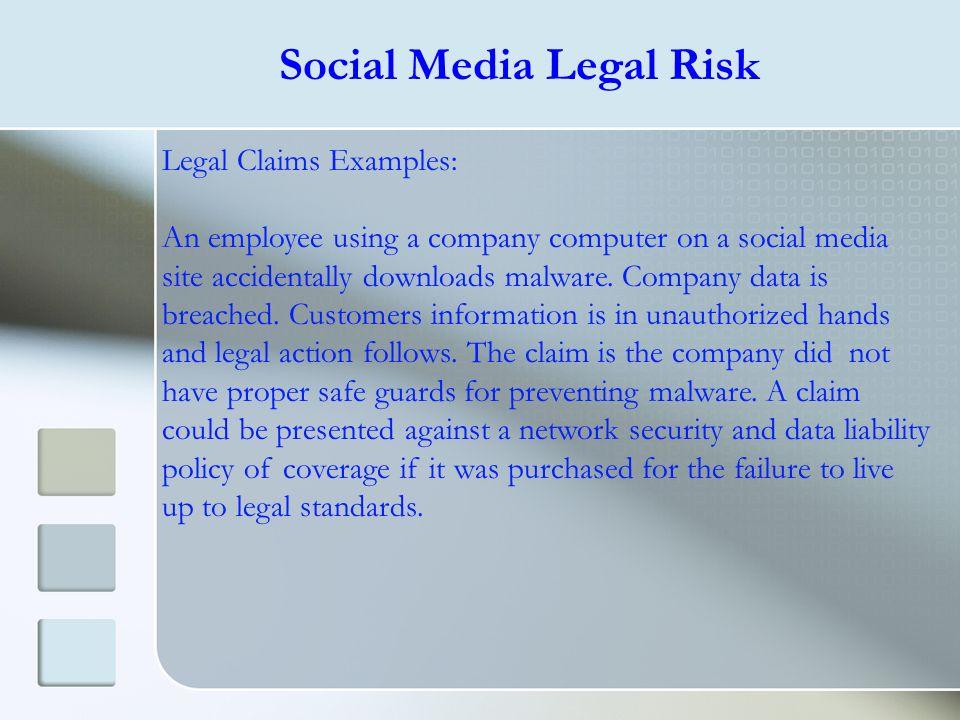 Social Media Legal Risk