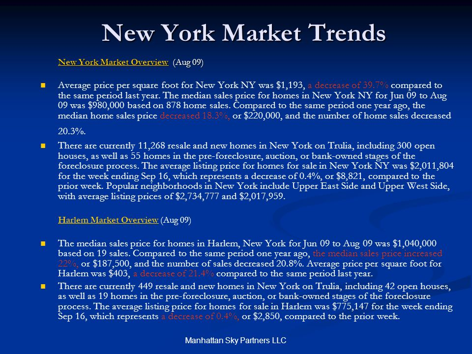 Manhattan Sky Partners LLC