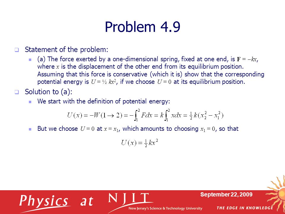 Problem 4.9 Statement of the problem: Solution to (a):
