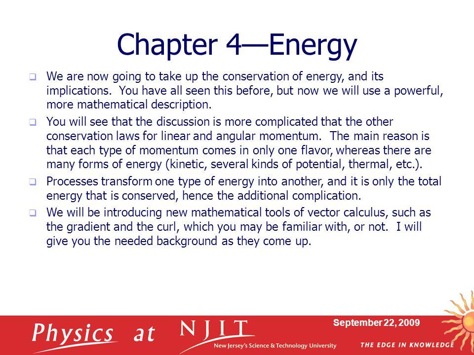 Chapter 4—Energy