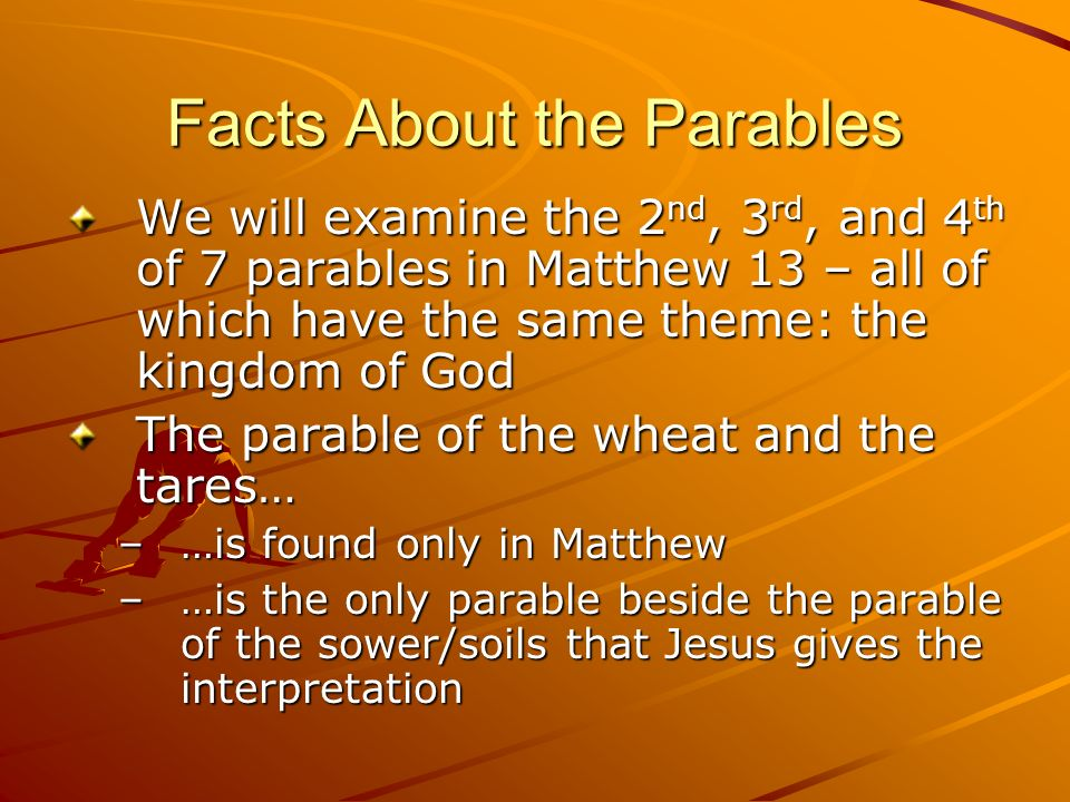 Facts About the Parables