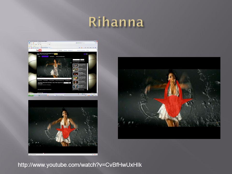 Rihanna http://www.youtube.com/watch v=CvBfHwUxHIk