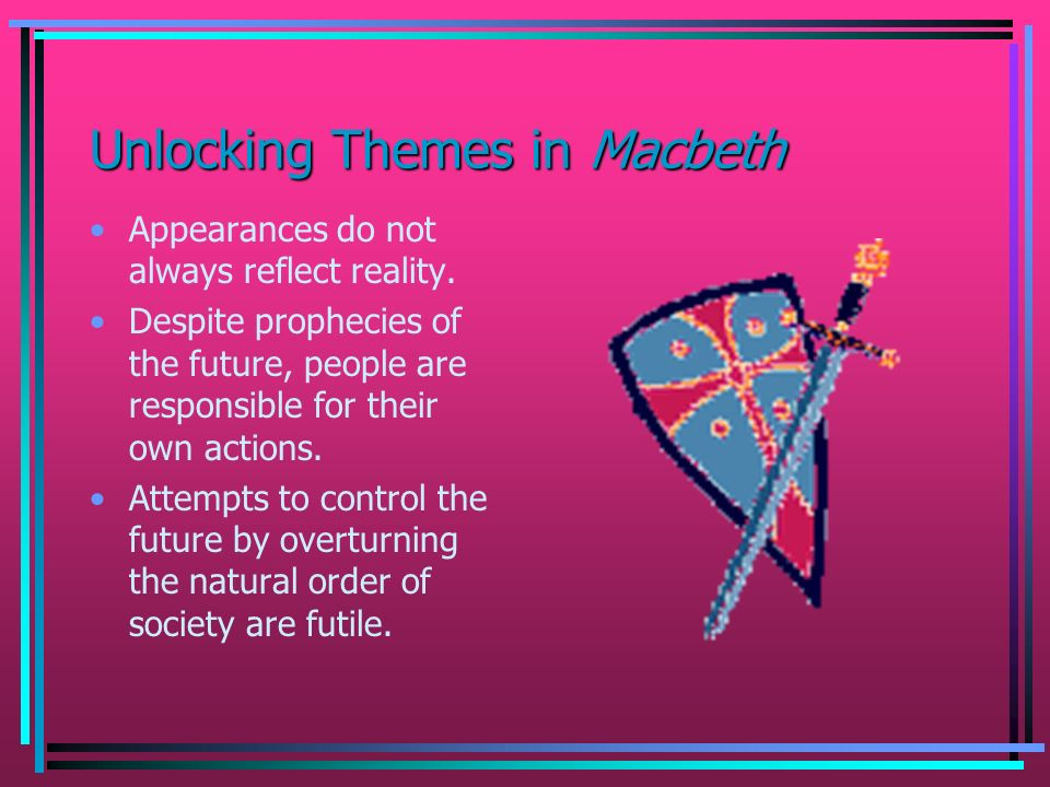 Unlocking Themes in Macbeth