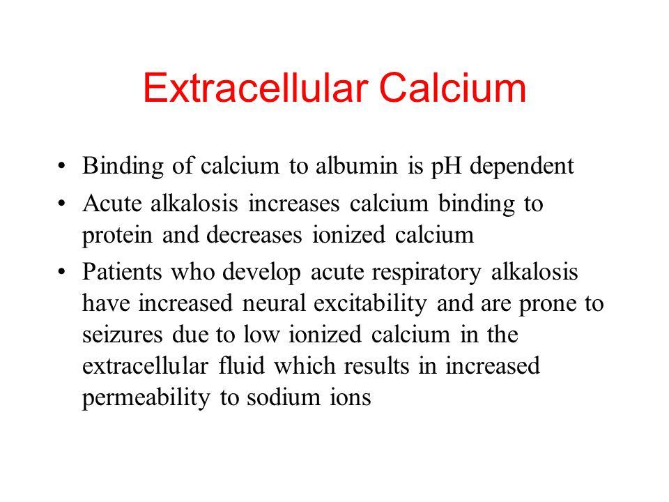 Extracellular Calcium