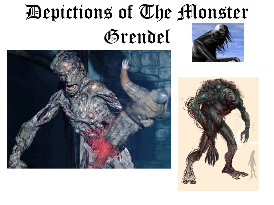 Depictions of The Monster Grendel