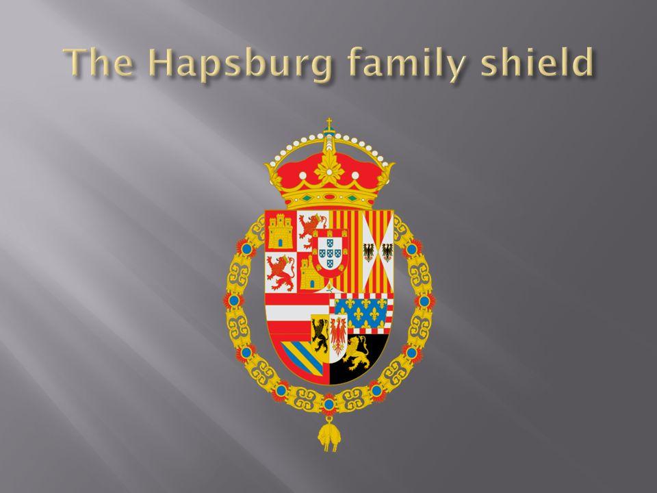 The Hapsburg family shield