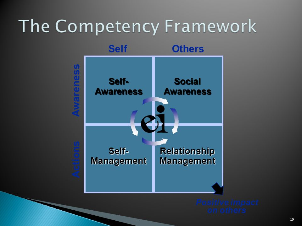 The Competency Framework