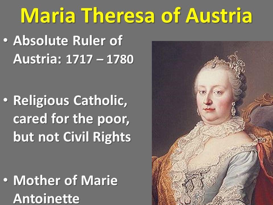 Maria Theresa of Austria