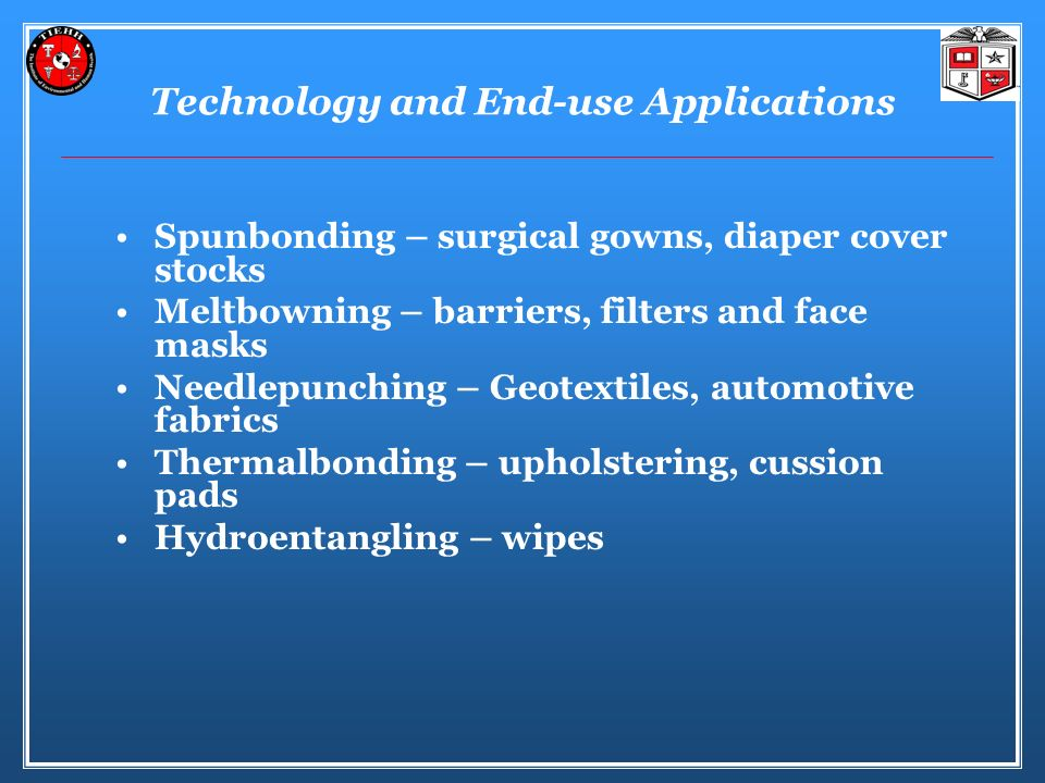 Technology and End-use Applications
