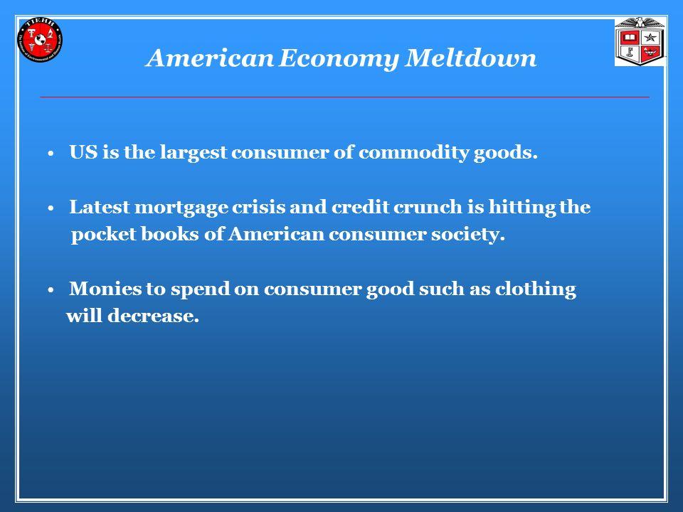 American Economy Meltdown