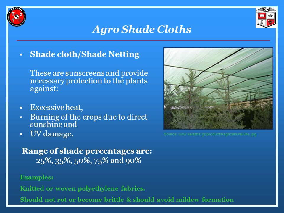 Agro Shade Cloths Shade cloth/Shade Netting