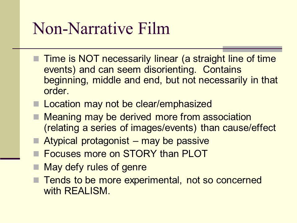 Non-Narrative Film